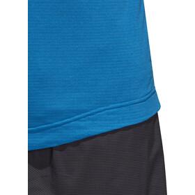 adidas TERREX Agravic T-shirt de running à manches longues Homme, shock blue
